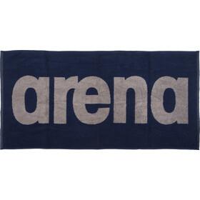 arena Gym Soft Asciugamano, blu/grigio
